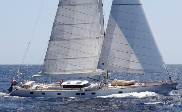 Elton yacht charter Windship Trident Sail Yacht