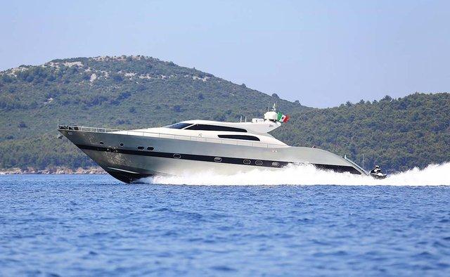 Dream On yacht charter  Motor Yacht