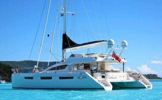 Cattitude yacht charter Alliaura Marine Group Sail Yacht