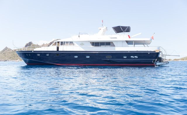 Enigma Blue Yacht Charter in Skiathos