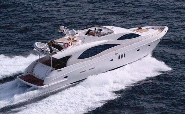 Majesty 88 Yacht Charter in Abu Dhabi