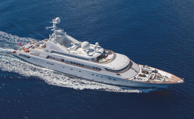 Grand Ocean yacht charter Blohm + Voss Motor Yacht