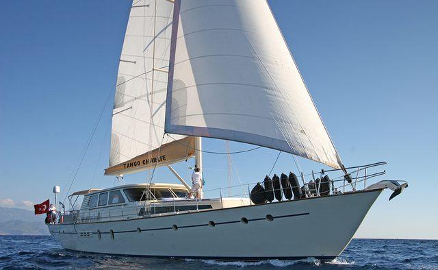 Tango Charlie yacht charter Cobanoglu Shipyards Motor/Sailer Yacht