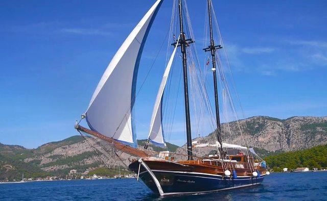 Lady Sovereign II yacht charter  Sail Yacht