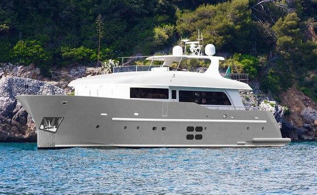Mr Gu yacht charter C.Boat Motor Yacht