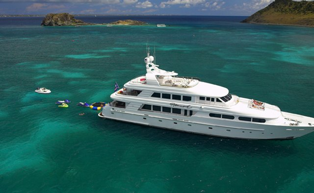 Nicole Evelyn yacht charter Cheoy Lee Motor Yacht