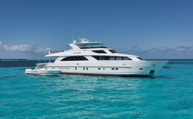 Limitless yacht charter Hargrave Motor Yacht