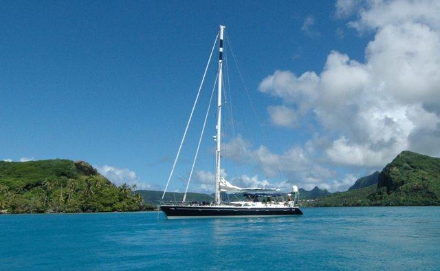 Billy Budd yacht charter Oyster Yachts Sail Yacht
