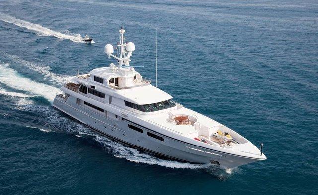 Elena V yacht charter Codecasa Motor Yacht