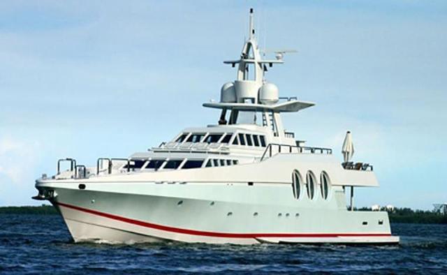 Never Say Never yacht charter Oceanfast Motor Yacht