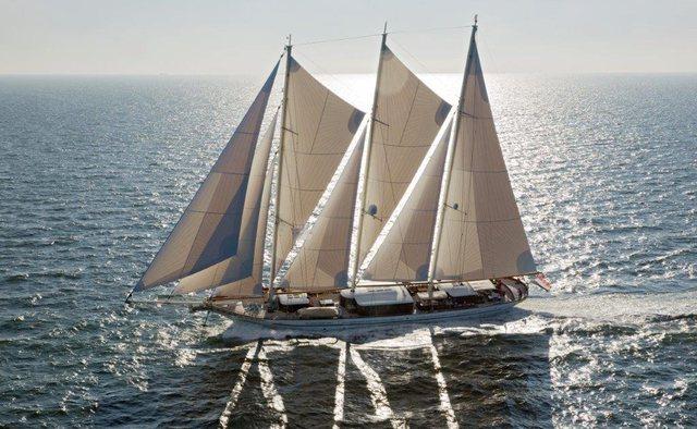 Mikhail Vorontsov yacht charter Dream Ship Victory Sail Yacht