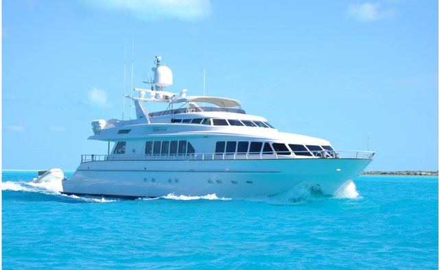Watercolours yacht charter Trinity Yachts Motor Yacht
