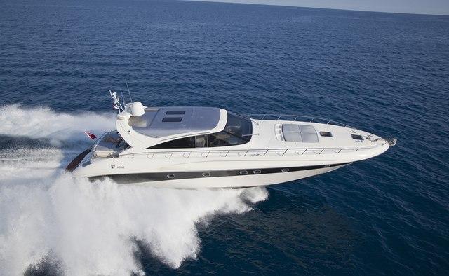 Icare yacht charter AB Yachts Motor Yacht