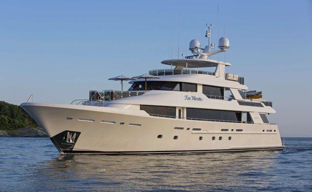Far Niente yacht charter Westport Yachts Motor Yacht