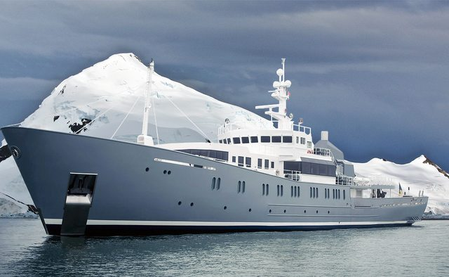 Enigma XK yacht charter Richards Shipbuilders Motor Yacht