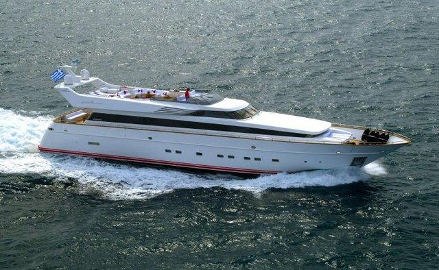 Benik yacht charter Cantieri di Pisa Motor Yacht
