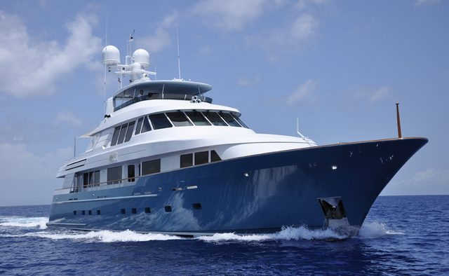 Fore Aces yacht charter Delta Marine Motor Yacht