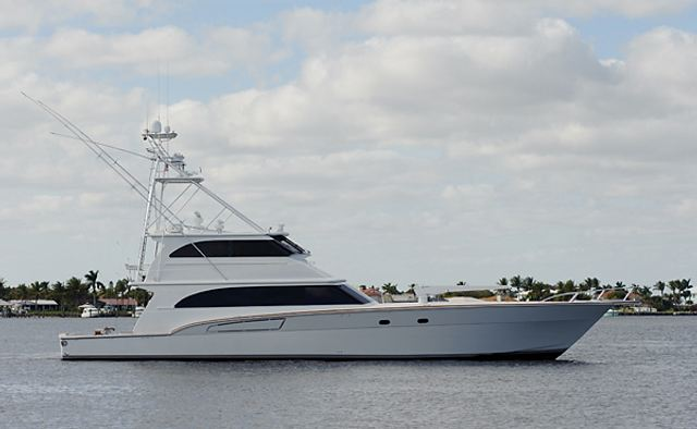 Sullivan Bay yacht charter Roscioli Donzi Yachts Motor Yacht