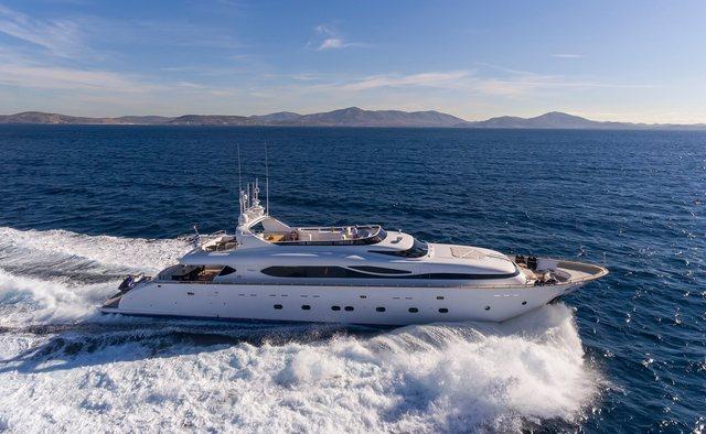 Paris A yacht charter Maiora Motor Yacht