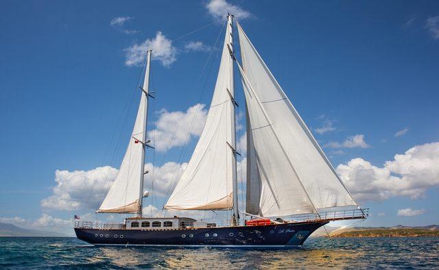 Le Pietre yacht charter ADA Yacht Works Motor/Sailer Yacht