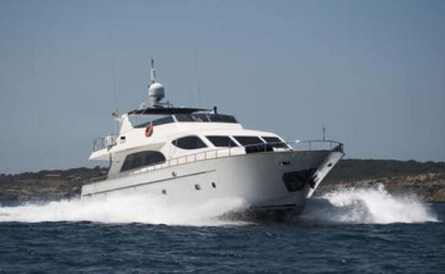 Champagne O'Clock yacht charter Falcon Motor Yacht