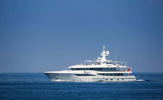 Papa yacht charter Amels Motor Yacht