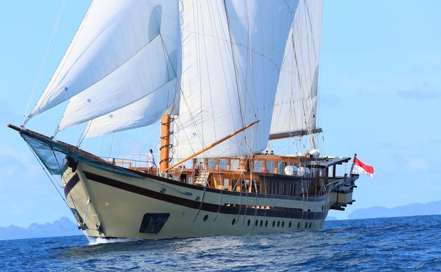 Lamima Yacht Charter in South East Asia