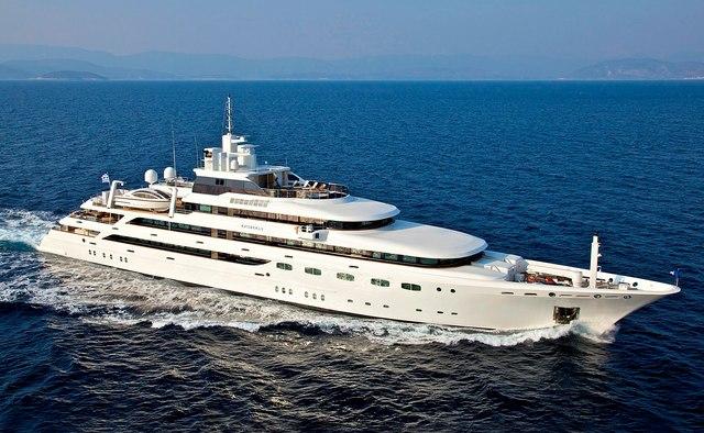 O'Mega yacht charter Mitsubishi Heavy Industries Motor Yacht