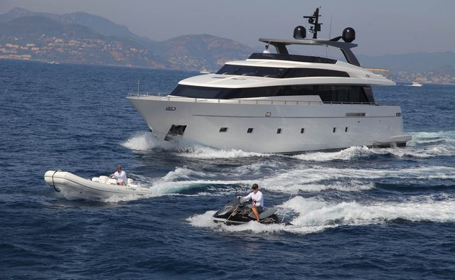Indigo yacht charter Sanlorenzo Motor Yacht