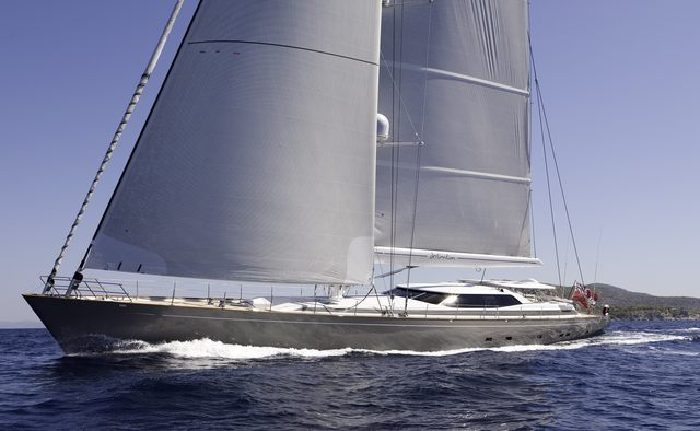 Destination yacht charter Alloy Yachts Sail Yacht