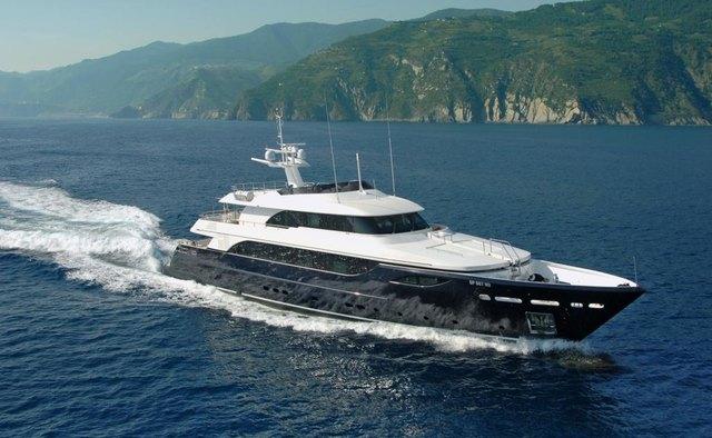 Michka V yacht charter Rodriquez Yachts Motor Yacht