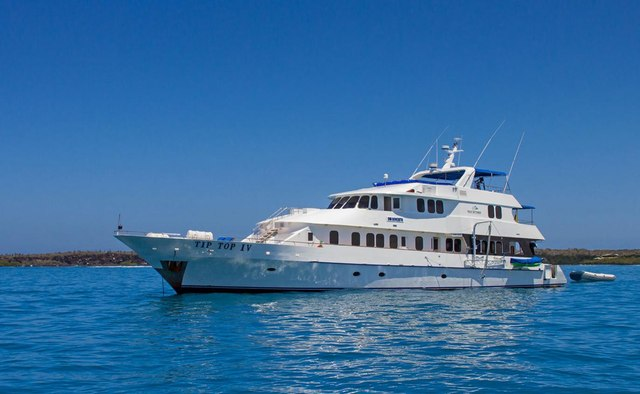 Tip Top IV yacht charter Tecnavin Motor Yacht