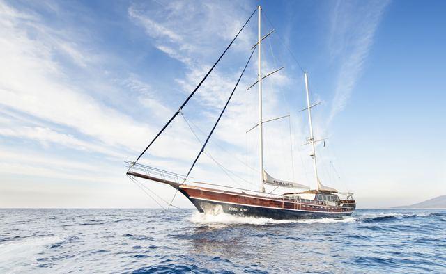 Cobra King yacht charter Cobra Yacht Motor/Sailer Yacht