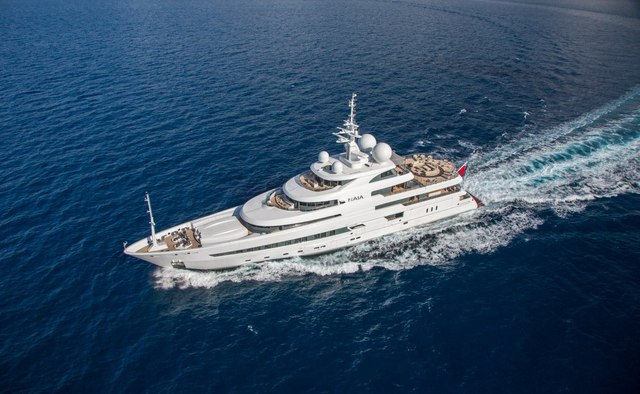 Naia yacht charter Freire Shipyard Motor Yacht