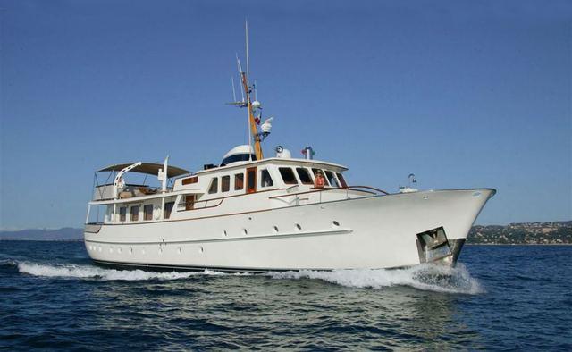 Cape Fane yacht charter Feadship Motor Yacht