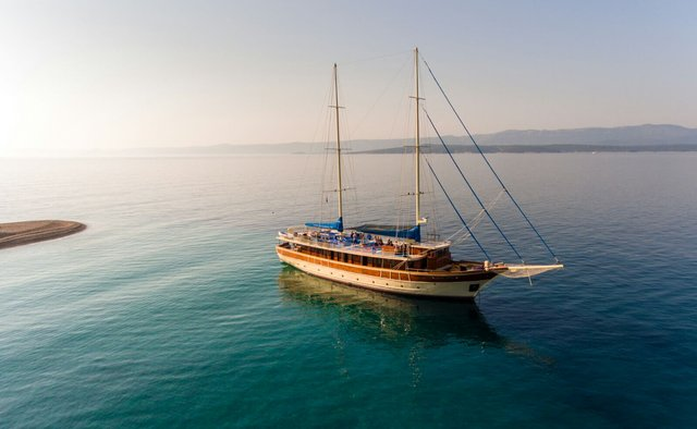 Tajna Mora yacht charter Custom Sail Yacht