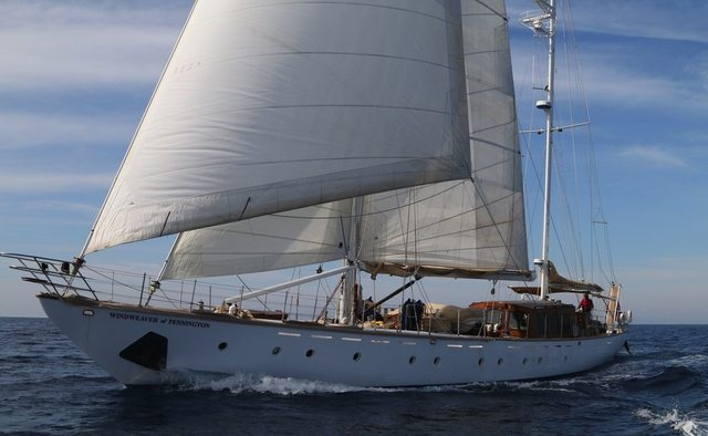 Windweaver of Pennington yacht charter Midship Sail Yacht