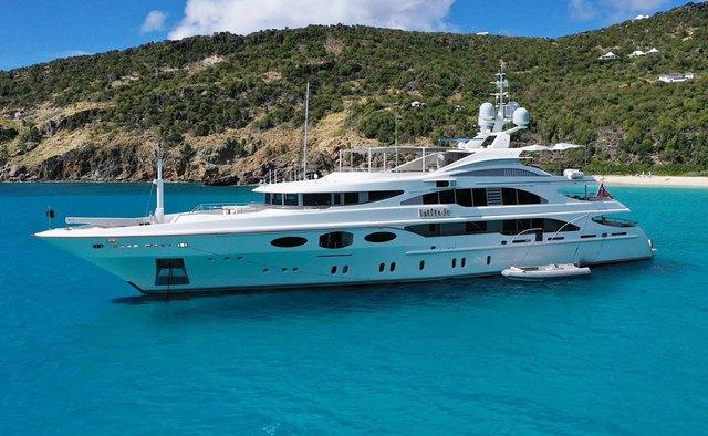 Latitude yacht charter Benetti Motor Yacht