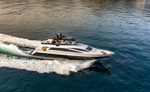Miss Ter yacht charter Amer Motor Yacht