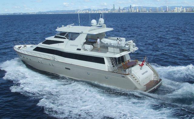 Auspro yacht charter Azimut Motor Yacht