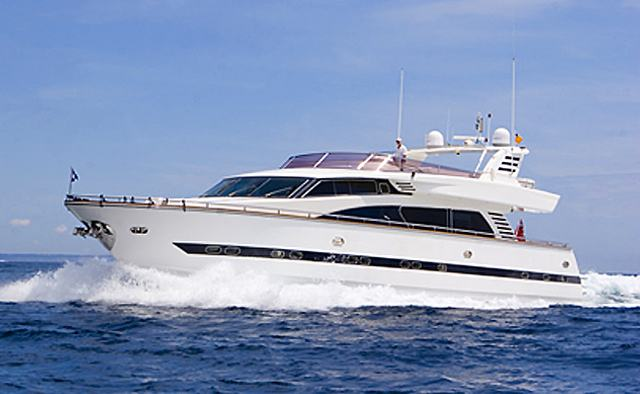 Vogue yacht charter Horizon Motor Yacht