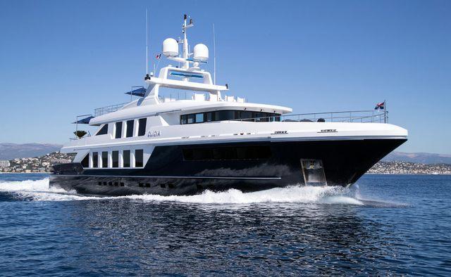 Clicia yacht charter Baglietto Motor Yacht