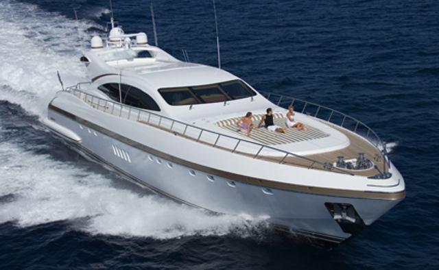 Crazy Too yacht charter Overmarine Motor Yacht