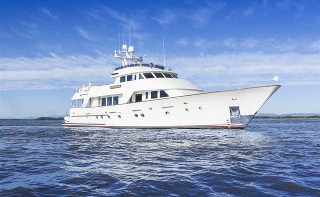 Silent World II yacht charter Christensen Motor Yacht
