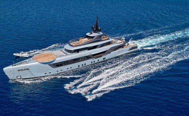 Geco yacht charter Admiral Yachts Motor Yacht