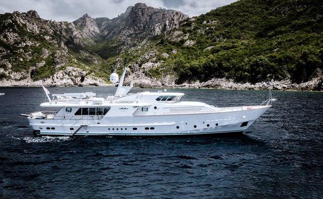 Vespucci yacht charter CRN Motor Yacht