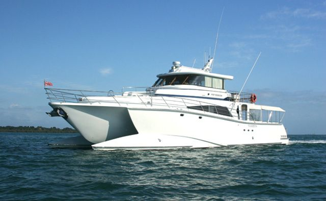 Pure Adrenalin Yacht Charter in Great Barrier Reef