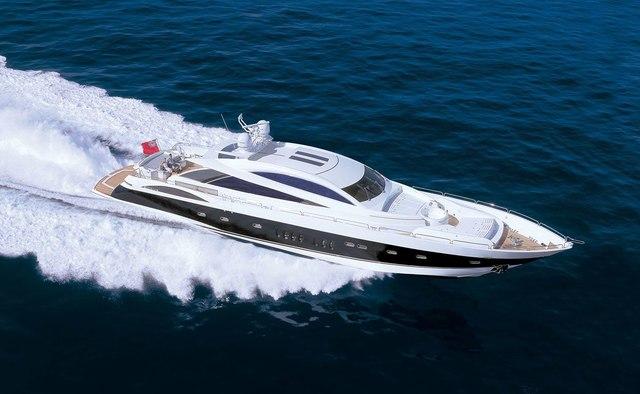 Casino Royale yacht charter Sunseeker Motor Yacht