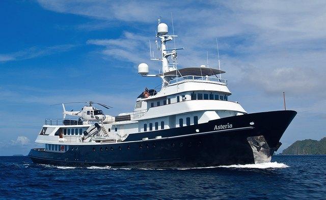 Asteria yacht charter Anastassiades & Tsortanides Motor Yacht