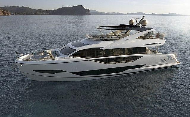 Quid Nunc yacht charter Sunseeker Motor Yacht
